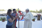 Faith is an adventure, Pope Francis tells Chilean youth