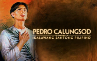 St. Pedro Calungsod A patron for catechists
